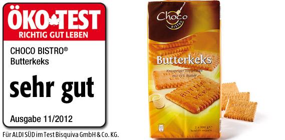 Butterkeks, 2x 200 g, Januar 2013