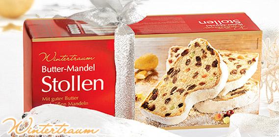 Butter-Mandel-Stollen, Oktober 2011