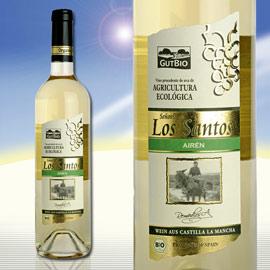 "2010er Span. Bio Weißwein ""Senorio de Los Santos"", Mai 2011"