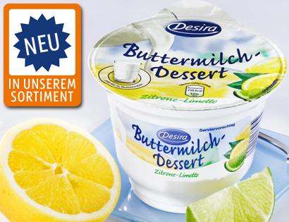 Buttermilch-Dessert, Mai 2013