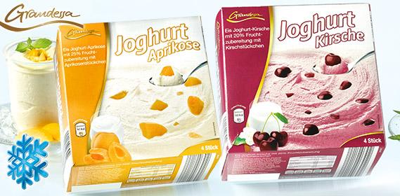 Eisjoghurt, 4x 170 ml, Juli 2012