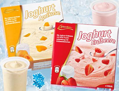 Eisjoghurt, 4x 170 ml, Mai 2013