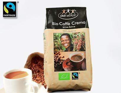 Bio Caffè Crema, Ganze Bohne, November 2013