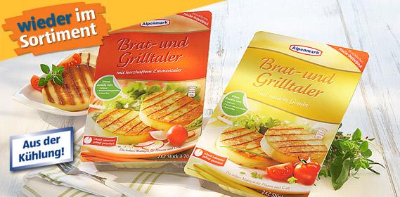 Brat- und Grillkäse, 4x 70g, Mai 2011