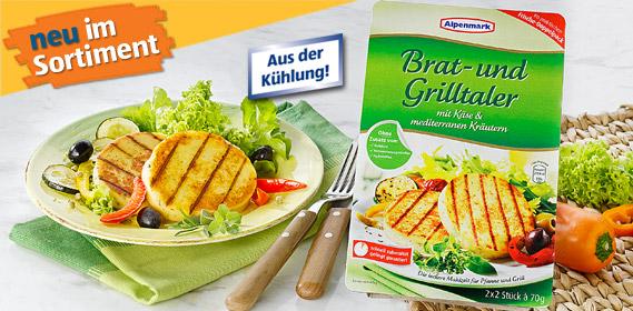 Brat- und Grillkäse, 4x 70g, August 2011