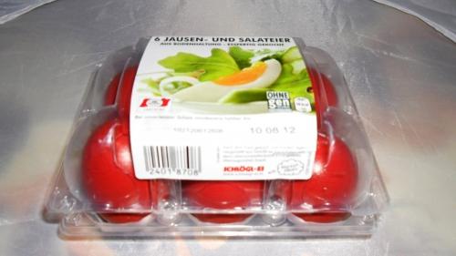Jausen- und Salateier, Juli 2012