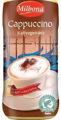 Kaffeegetränk Cappuccino, Juni 2017