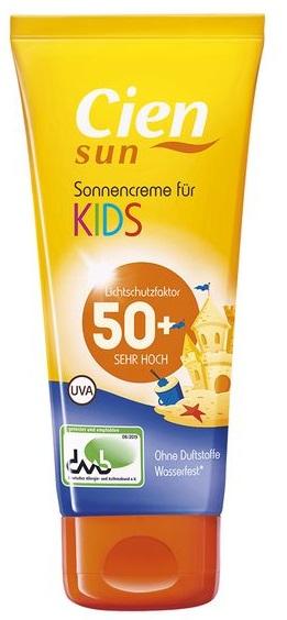 Sonnencreme für Kinder, LSF 50, Juni 2017