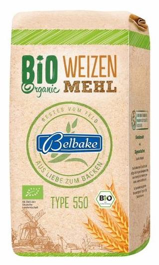 Bio-Weizenmehl Type 550, Juni 2017