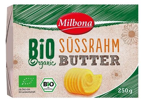 Bio-Süßrahm-Butter, Juli 2017