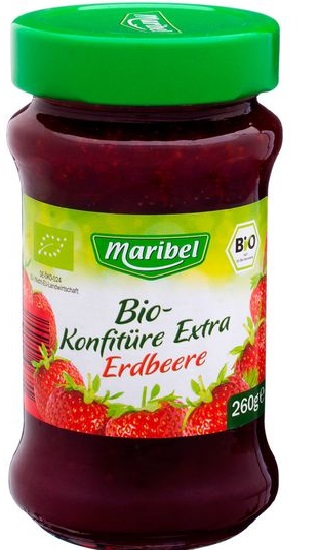 Konfitüre Extra Erdbeer, Juni 2017