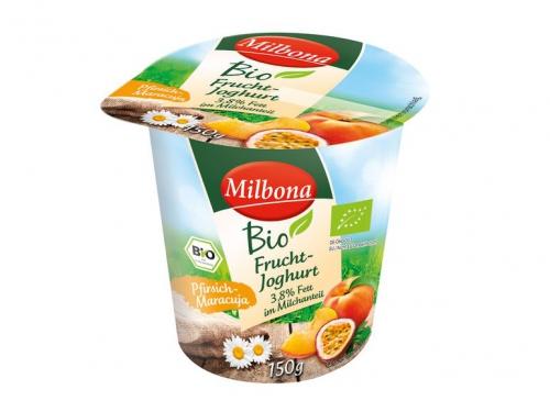 Fruchtjoghurt 3,8% Fett Pfirsich-Maracuja, Oktober 2017