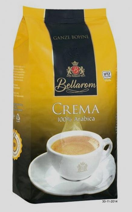 "Caffè Crema ""Ganze Bohne"", Dezember 2014"