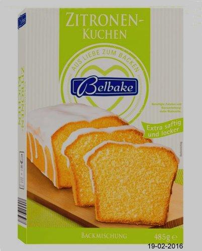 Belbake Backmischung Zitronenkuchen Von Lidl