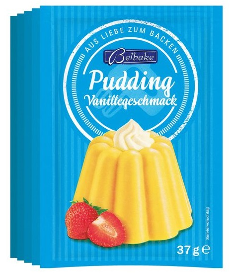 Puddingpulver Vanillegeschmack, Juni 2017