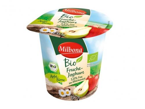 Fruchtjoghurt 3,5% Fett Apfel-Birne, Oktober 2017