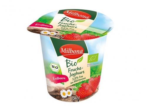 Fruchtjoghurt 3,8% Fett Erdbeer, Oktober 2017
