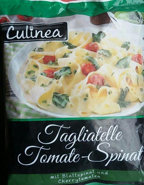 Tagliatelle Tomate-Spinat, Juni 2017