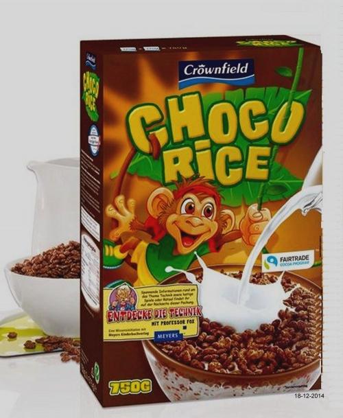 Choco Rice, Dezember 2014