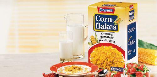 Cornflakes, 2x 500 g, Oktober 2007