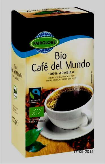 "Kaffee ""Cafe del Mundo"", September 2015"