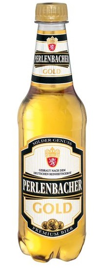 Perlenbacher Gold 4,9 % Vol., 6 x 0,5 l, Juni 2017