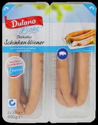 light Schinken-Wiener, 2x4 Stück, August 2017