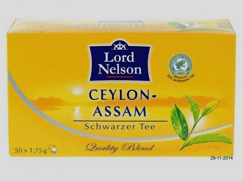 Ceylon-Assam Tee, November 2014