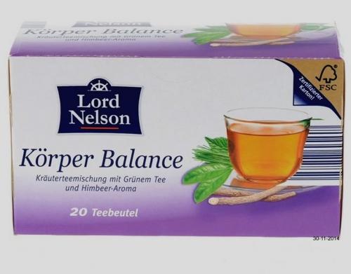 Wellness-Tee Körper Balance, Dezember 2014