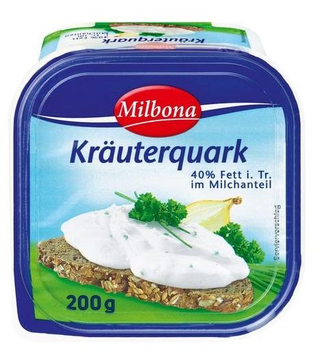 Kräuterquark 40 % Fett, Juli 2017