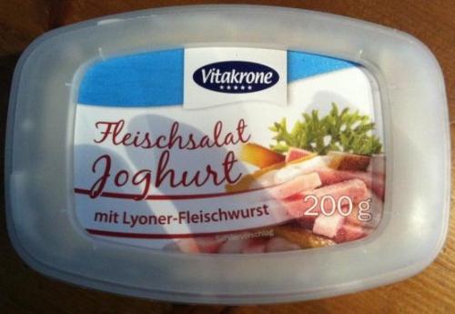 Fleischsalat Joghurt, Juni 2017