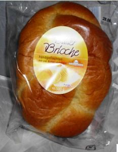 Butter-Brioche, handgeflochten, Juni 2012