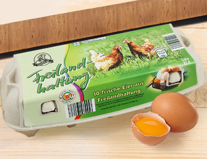 Eier aus Freilandhaltung, Oktober 2013