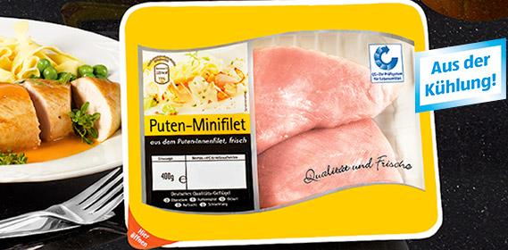 Puten-Minifilet, September 2011