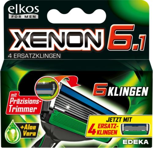Xenon 6 Rasierer Ersatzklingen, Dezember 2017