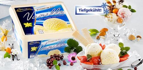Eisschale / Premium Eis Vanille, Oktober 2008