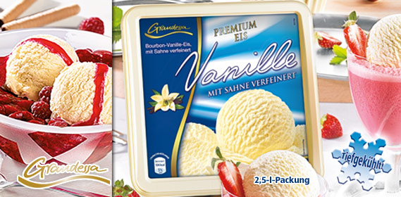 Eisschale / Premium Eis Vanille, Mai 2011