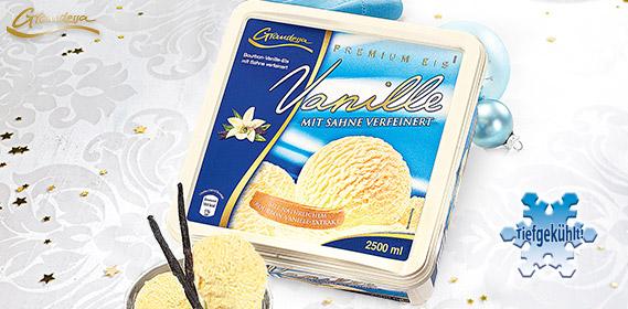 Eisschale / Premium Eis Vanille, Dezember 2011