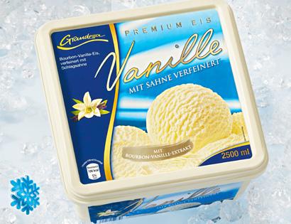 Eisschale / Premium Eis Vanille, Mai 2013