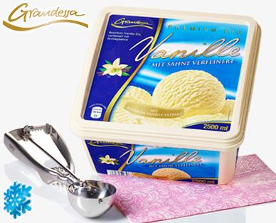 Eisschale / Premium Eis Vanille, August 2014