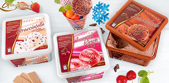Premium-Eiskrem, Juni 2012