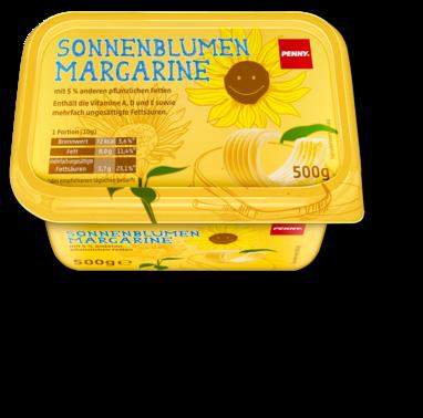 Sonnenblumen-Margarine, April 2016