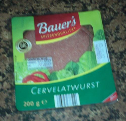 Cervelatwurst, Oktober 2012