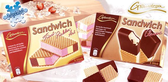 Sandwich Eis, 8x 90 ml, Mai 2011