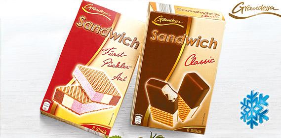 Sandwich Eis, 8x 90 ml, Mai 2012