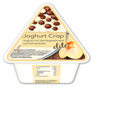 Joghurt Crisp, Februar 2017