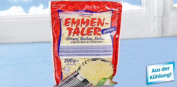 Emmentaler, gerieben, November 2011