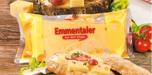 Emmentaler Käse, am Stück, Januar 2008