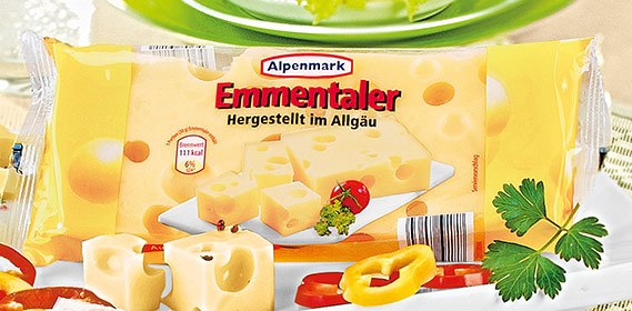 Emmentaler Käse, am Stück, Januar 2011