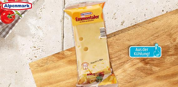 Emmentaler Käse, am Stück, August 2012